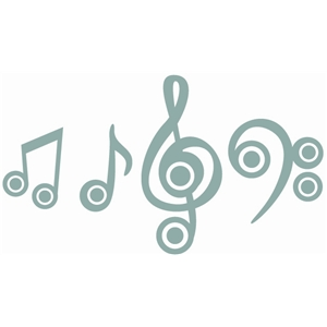target music notes