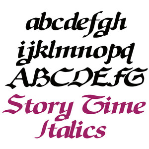 zp story time italics