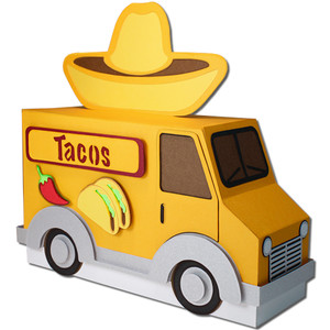 taco truck treat box