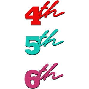 fourth fifth sixth numbers