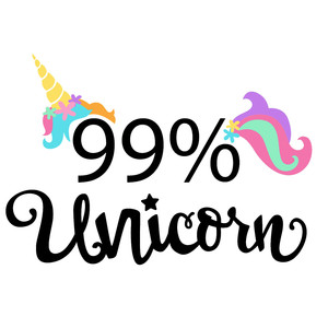 99% unicorn phrase