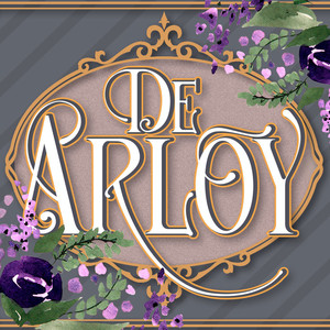 de arloy display font