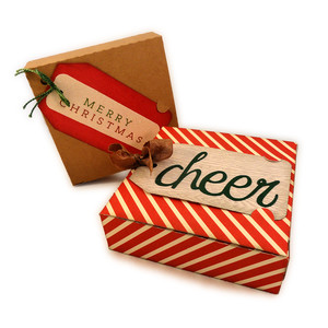 box gift pair tab tag cheer