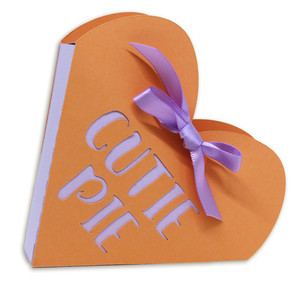 cutie pie open top heart box