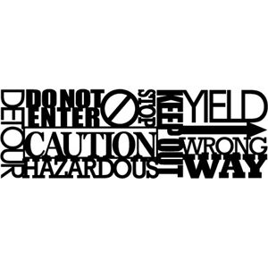 phrase: caution