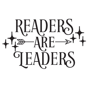 readers are leaders arrow quote