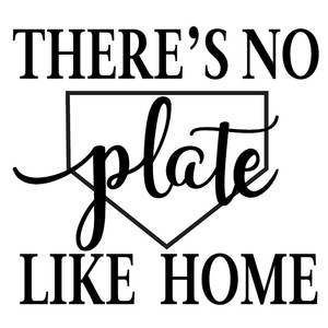 no plate like home
