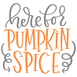 here for pumpkin spice