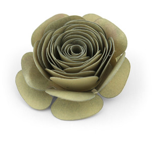 rolled flower