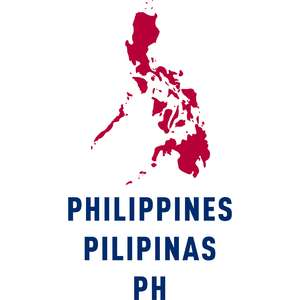 philippines country outline