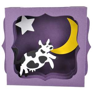 the cow jumped over the moon gift card box