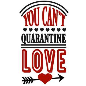 you can't quarantine love