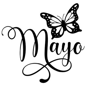 mayo butterfly word