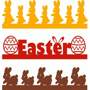 easter borders set 1