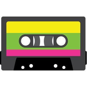 silhouette design store view design 120431 cassette tape. Black Bedroom Furniture Sets. Home Design Ideas
