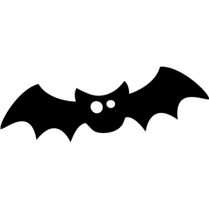halloween garland  bat