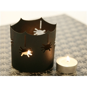 spider tealight luminary
