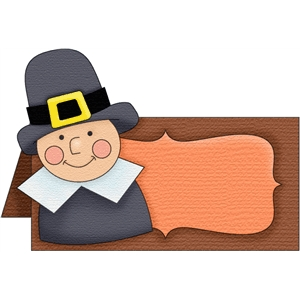 pilgrim boy placecard