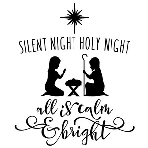 silent night holy night nativity