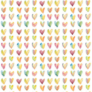 colorful hearts background pattern