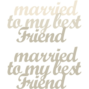 married to friend phrase