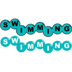 bubbles swimming phrase