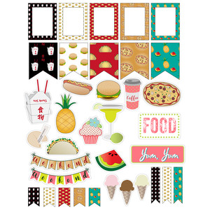 novelty fast food planner stickers