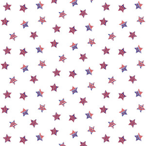 red white and blue marbled star pattern