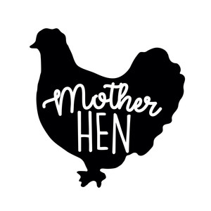 Silhouette Design Store View Design 204331 Mother Hen