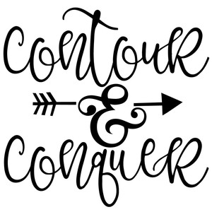contour and conquer arrow quote