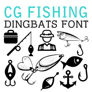 cg fishing dingbats