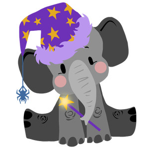 little wizard elephant