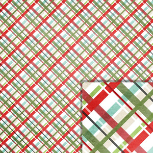 christmas plaid background paper