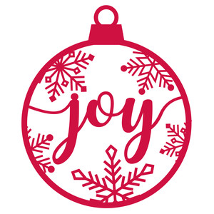ornament - joy
