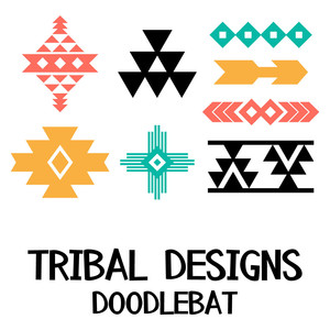 tribal designs doodlebat