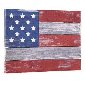 usa flag leath board