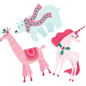 llamas, polar bears, unicorns, oh my!