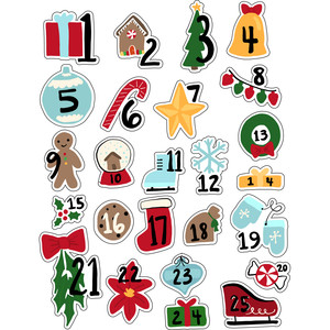ml christmas advent stickers