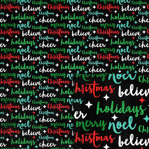 christmas words background paper