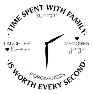 the time spent with family is worth every second