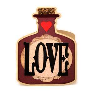 love potion twist pop up card