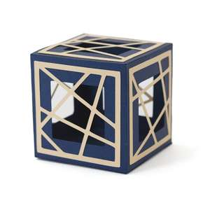 diagonal cube box m