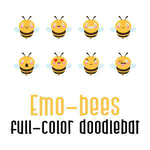emo-bees color-bat