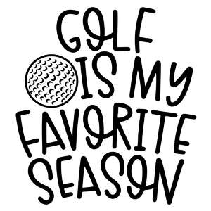 golf is my favorite season