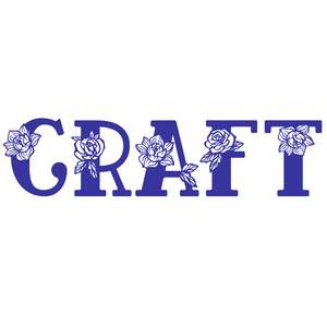 craft flower word
