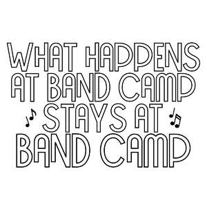 what happens at band camp