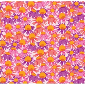 crowded coneflower pattern