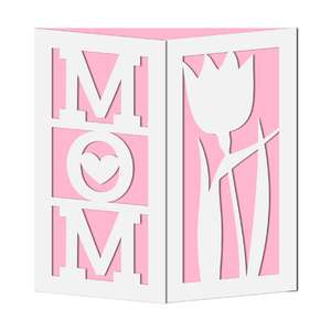gate fold mom card