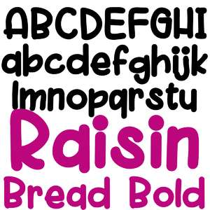 zp raisin bread bold