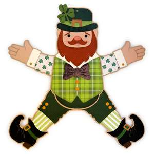 leprechaun figure large wall decoration